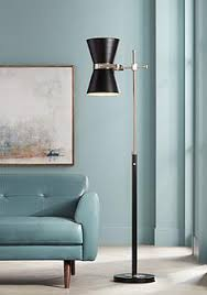 Mid Century Floor Lamp Black Floor Lamps Lamps Plus