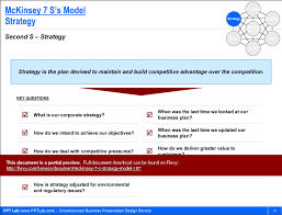 Mckinsey 7 S Strategy Model Powerpoint Mckinsey Ppt