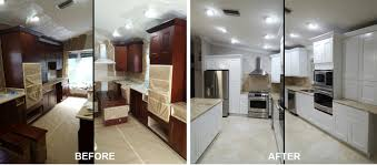 kitchen cabinet refinishing in pompano beach 954 300 3609