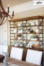 How To Decorate A Bookcase How To Decorate Shelves For Fall Or Anytime Really The