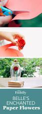 Patio Playhouse Beauty And The Beast by Belle U0027s Enchanted Paper Rose Pinterest Fails Disney Diy And
