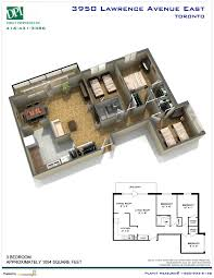 floor plans toronto 3950 lawrence avenue e kingston u0026 lawrence toronto rental