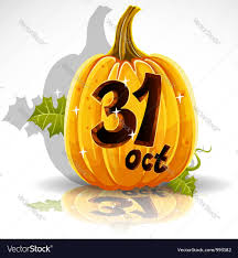 halloween october 31 background royalty free vector image