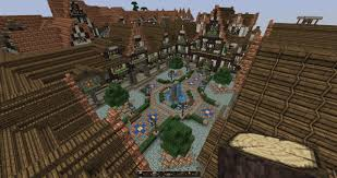 Castle Floor Plans Minecraft Lovely Medieval Square Medieval Town Update1 With Download