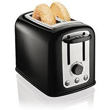 Yankees Toaster Amazon Com Mainstays 2 Slice Bread Black Toaster With Auto Shut