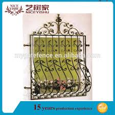 new ornamental indian 2016 wrought iron window grill model