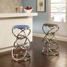 blue bar stools kitchen furniture groovy swivel bar stool modern bar stools white faux leather