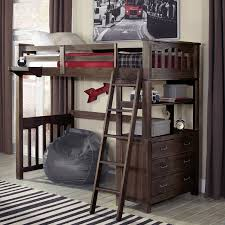 loft twin bed with desk and closet eliminate the clutter with