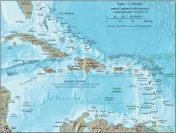 Map Of Central America And Caribbean by Geog 1303 Notes Regions Americas