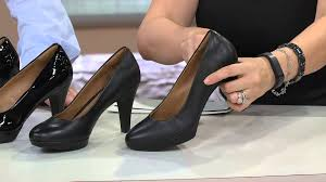 clarks bendables brier dolly leather pumps with jacque gonzales