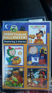 pbs kids spooktacular halloween movie dvd from sort it apps