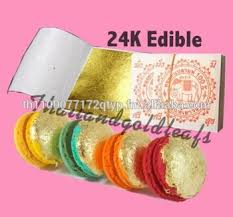 where to buy edible gold leaf edible gold leaf sheets 24k 100 cake decoration macaroon