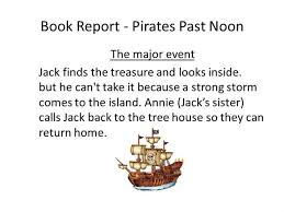 treasure island book report book report pirates past noon authorstream