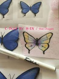 and easy way to wafer paper butterfly wafer paper