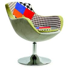 fauteuil design tissu fauteuil design tissu patchwork origan