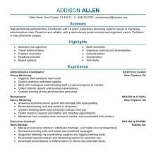 Executive Resume Template Doc Examples Of The Perfect Resume Resume Example And Free Resume Maker