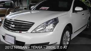 nissan teana 2015 interior 2012 nissan u2013 teana u2013 200xl 2 0 at youtube