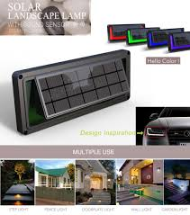 Solar Lights On Fence Posts by Solar Plastic Fence Light Solar Fence Post Cap Lights Solar Lamp