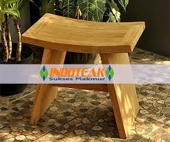 teak bath stool and shower seat teak garden furniture and indoor