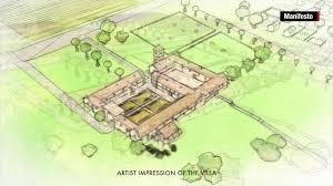 ancient roman villa floor plan ancient roman villa discovered cnn video