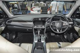 honda civic 2016 interior 2016 honda civic asean spec dashboard at 2016 bims indian