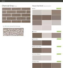 mesaba brown residential brick sioux city brick behr ralph