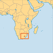 Burundi Africa Map by Lesotho Operation World