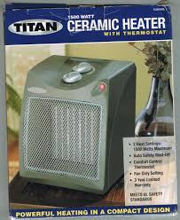 nissan titan heater not working titan ceramic heater w thermostat model tcm16sil u ebay