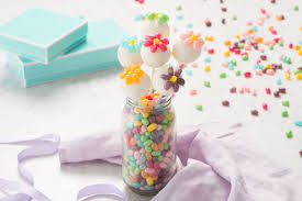 easter cake pops jelly belly flower cake pops recipe jelly belly candy company