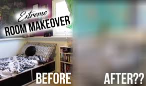 extreme room makeover bedroom edition youtube
