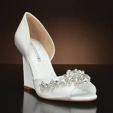 wedding shoes wedges wedge wedding shoes my glass slipper