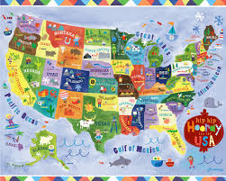 New York On Us Map by Hip Hip Hooray It U0027s The Usa Map By Jill Mcdonald Illustrations