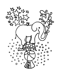 circus elephant coloring page circus elephant coloring pages
