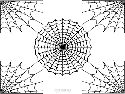 Miscellaneous Coloring Pages Cool2bkids Part 4 Spider Web Coloring Page