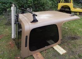 jeep soft top tan jeep wrangler yj hard top oem 87 95 tan spice jeep yj