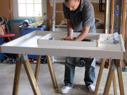 How To Build A Small Kitchen Island How To Make A Concrete Countertop How Tos Diy