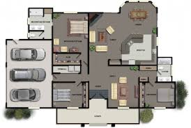 Contemporary Floor Plan by Modern Floor Plans Houses Home Office With Design