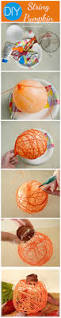 how to make diy string pumpkin decor pumpkin ideas craft and frugal