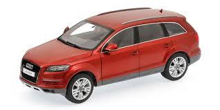 Audi Q7 Models - danhausen model details audi q7 facelift granato red 09222r