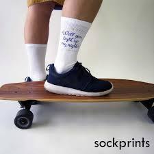 homecoming custom socks will you light up my no