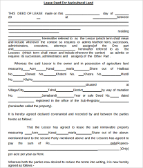 sample commercial lease agreement template example commercial