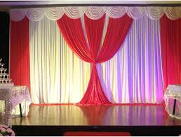 compare prices on party curtains stage red online shopping buy