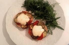 basilic cuisine bruschettas aux légumes rôtis mozza et pistou basilic la