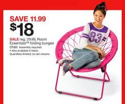 Bungee Chairs At Target Room Essentials Folding Bungee Chair Deal At Target Black Friday Sale