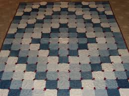 sew in peace recycle jeans to make a quilt