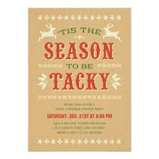 Ugly Christmas Sweater Party Poem - party invitations popular ugly christmas sweater party
