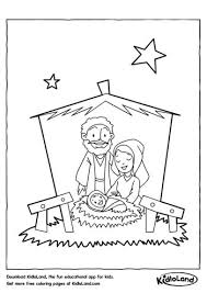 birth of jesus coloring page christmas coloring pages free printables for your kids kidloland