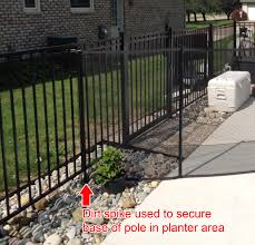 diy child safety pool fence dirt spike lifefence com