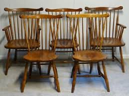 Stickley Dining Room Furniture Stickley Dining Chair Set Of 5 Windsor Chairs Set Stickley