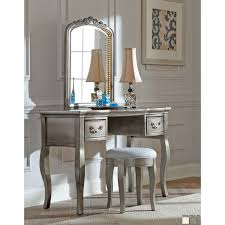 bedroom luxury white ikea vanity set with oval mirror vanity and